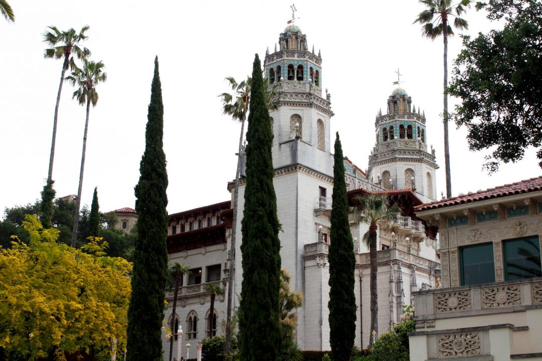 Hearst Castle Side