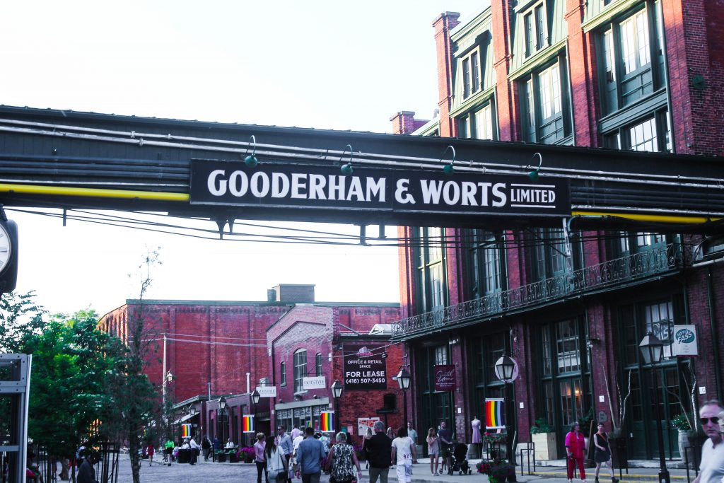 Distillery District Toronto Gooderham & Worts