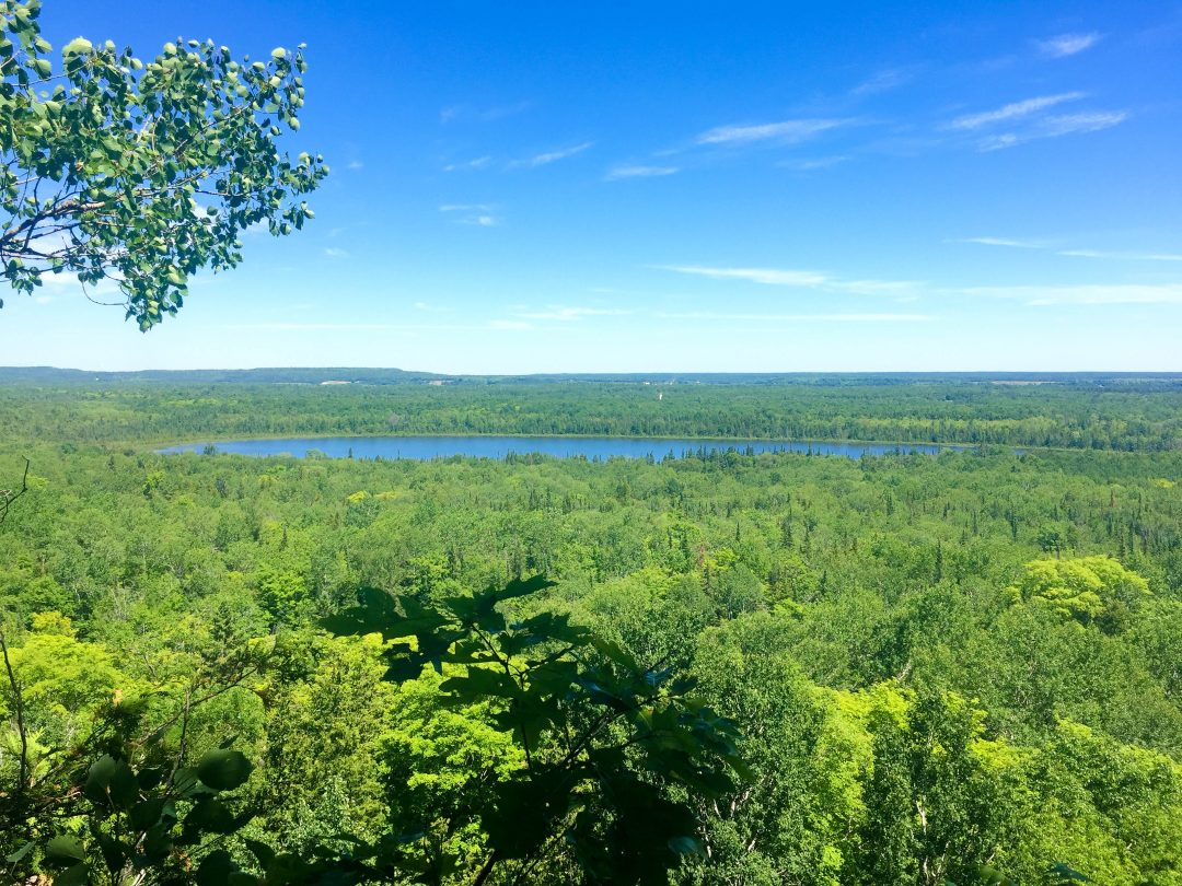 View from the Cup and Saucer Trail, Manitoulin Island, Canada