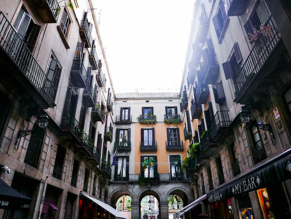 Gothic Quarter Barcelona Spain