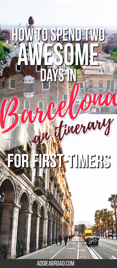Barcelona is a big city, so there's a lot of ground to cover and a lot of amazing things to see. Here's an awesome itinerary that details how to spend the best 2 days in Barcelona.