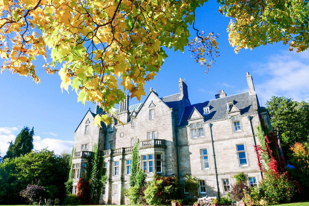 Staying the Night in a Scottish Castle