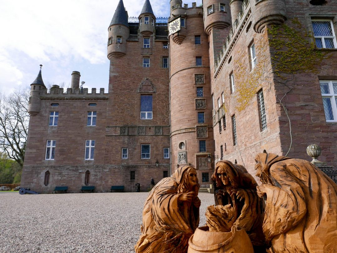 Glamis Castle Scotland Three Witches Macbeth