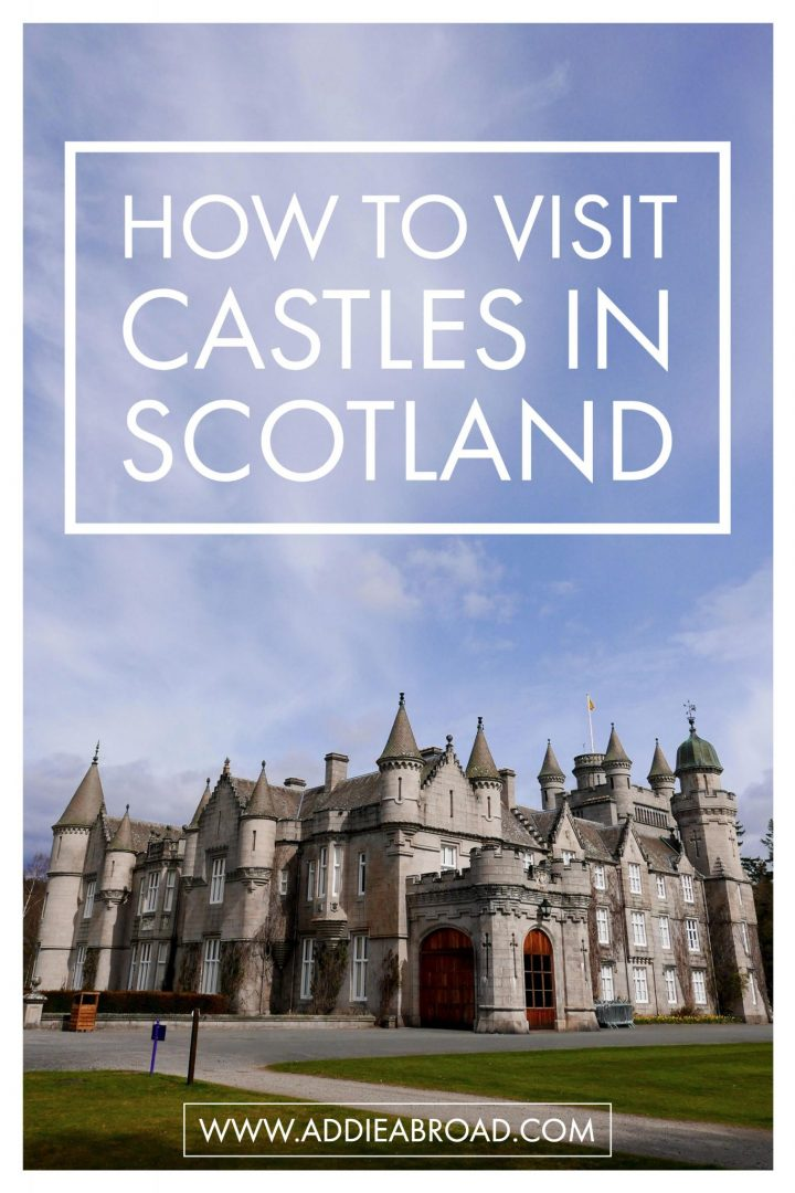 Want to see Castles in Scotland? Read this post about visiting two Scottish Castles in a day trip.