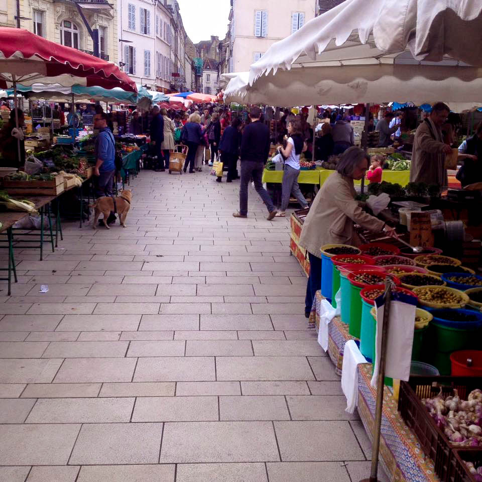 Les Halles Market Dijon France Best Food Markets in Europe