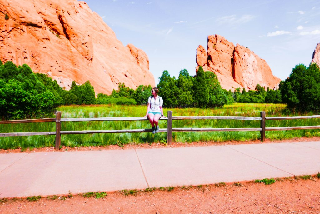 Perkins Central Garden Trail Garden of the Gods Colorado Springs