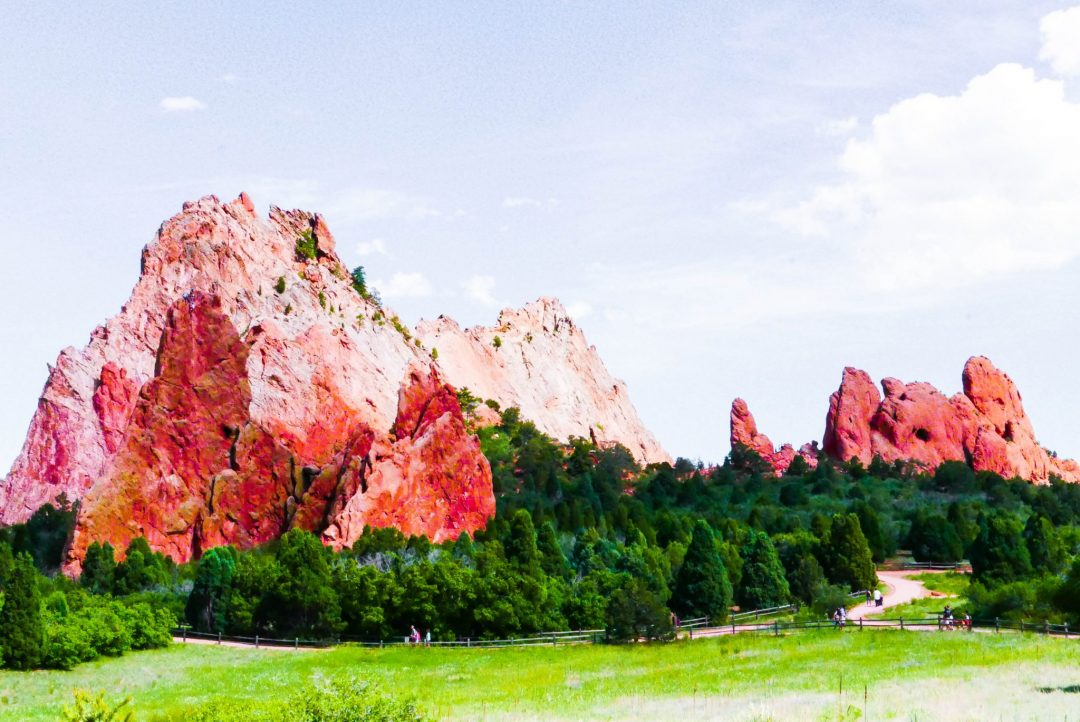 Dehydration & Deities // An Afternoon at Garden of the Gods