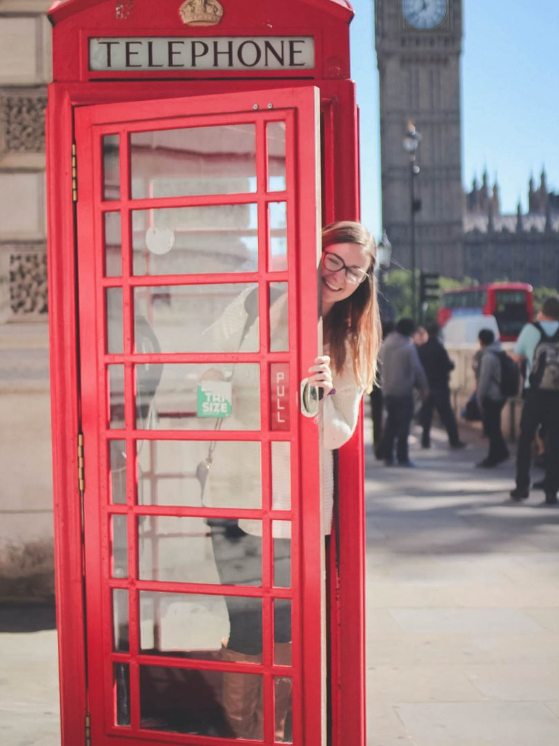 Addie Phone Box London