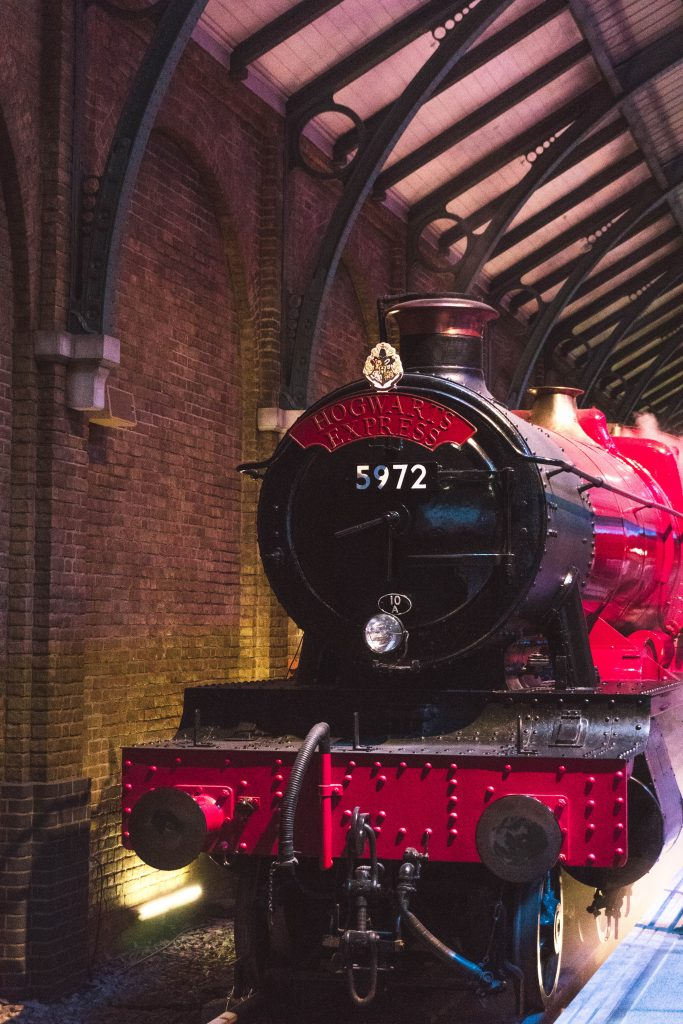 The Hogwarts Express, Kings Cross Station, Warner Bros Harry Potter Studio Tour London