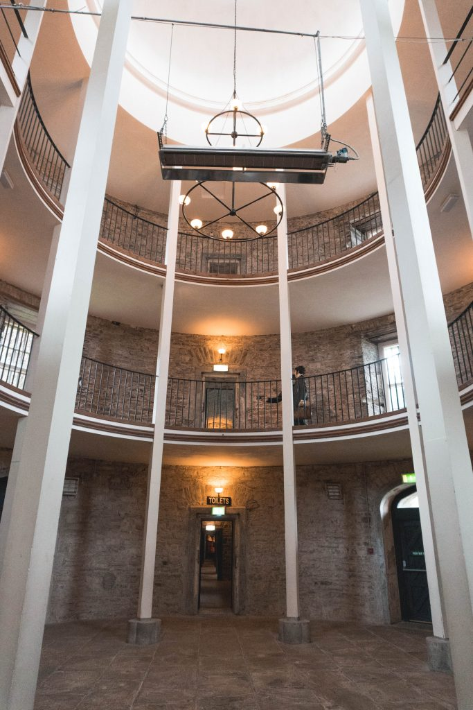 Cork City Gaol main room Ireland