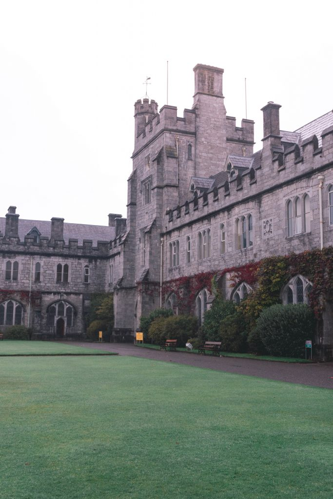 Quad at the University College Cork City Ireland