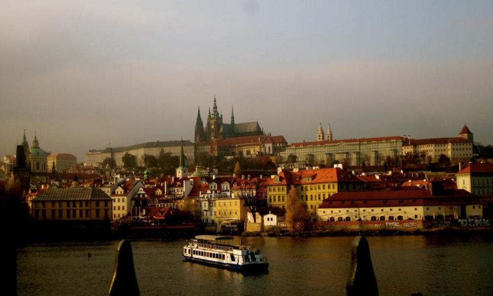 Prague Castle and Skyline