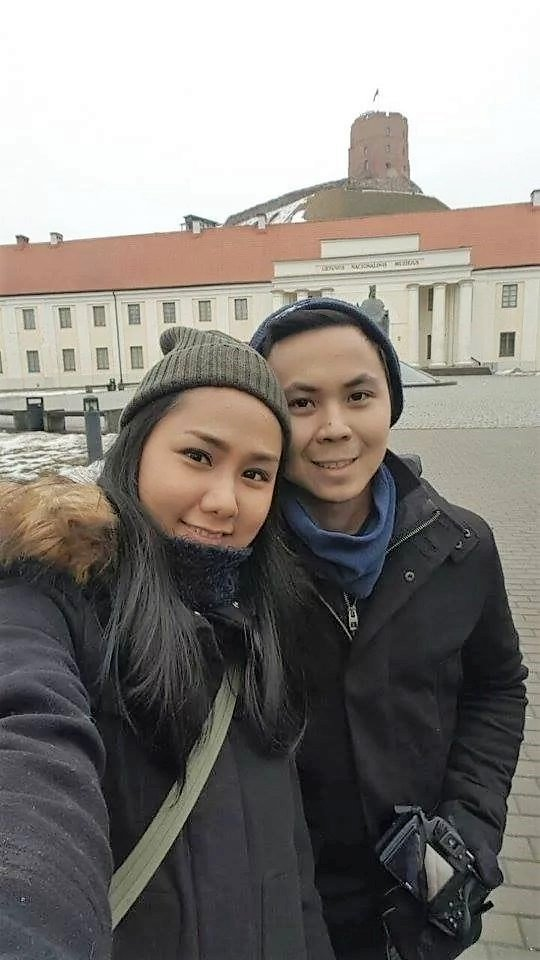 Star and her boyfriend Pierre in Norway
