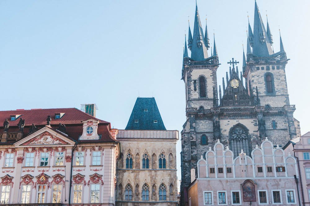 The Church of Our Lady Before Tyn on the Old Town Square, Prague