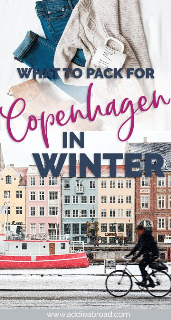 If you don't want to freeze when you visit Copenhagen in winter, then you NEED this packing list for Copenhagen in winter. Click here for the ultimate Copenhagen packing list for winter. #travel #europe