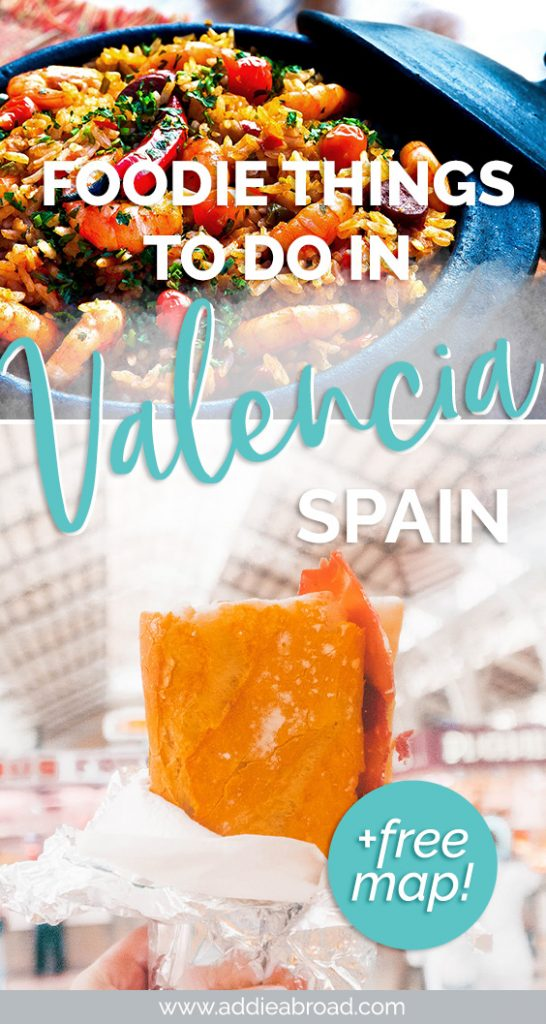Valencia, Spain is an amazing foodie destination. For the best Valencia food, including paella and horchata, click through to read this post! #travel #spain